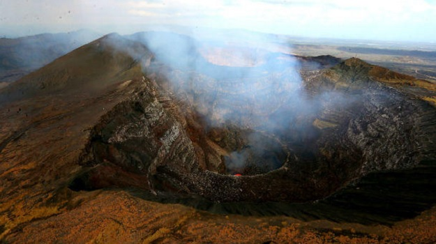 Вулкан Масая в Никарагуа