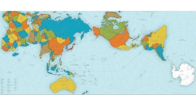 Новая карта мира