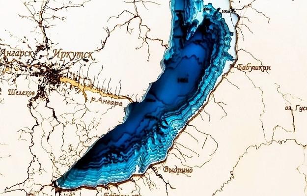 озеро Байкал без воды