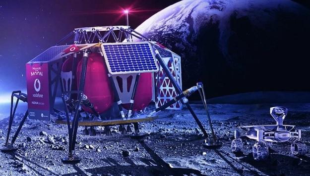 Vodafone заявил, что назначил Nokia в качестве своего технологического партнера для развития сотовой связи на Луне