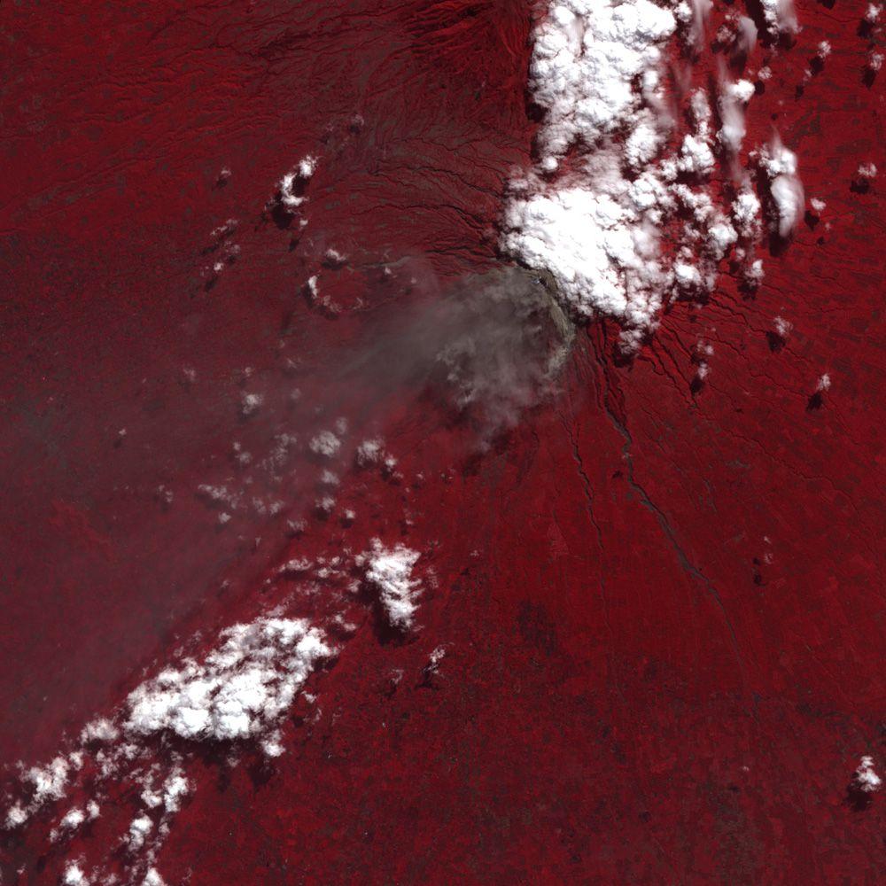 Вулкан Мерапи 6 июня 2006 года
