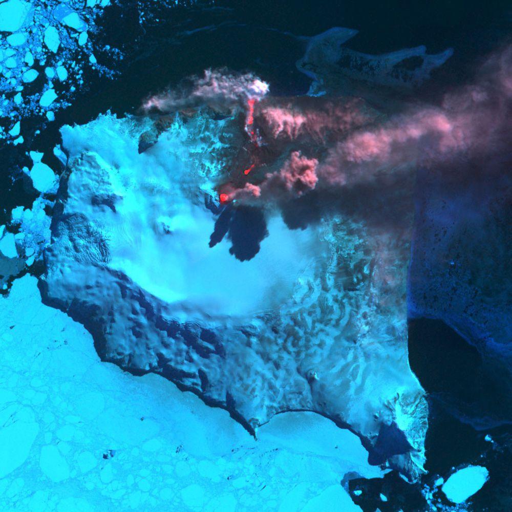 Гора Белинда на южных Сандвичевых островах