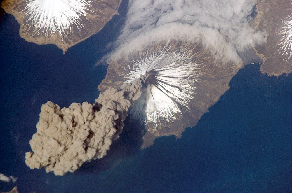 Кливленд на Алеутских островах