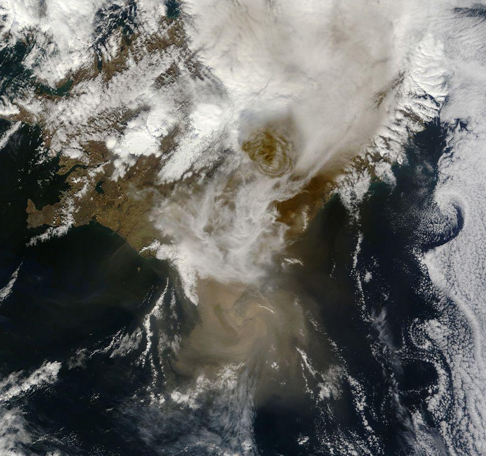 Гримсвотн - самый активный вулкан в Исландии